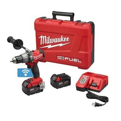 Milwaukee 2706-22 M18 Fuel With One Key 18-Volt Lithium-Ion Brushless 1/2 In. Co