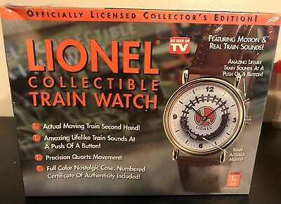 Officially Licensed Lionel Train Watch Collector's Edition! New!!!
