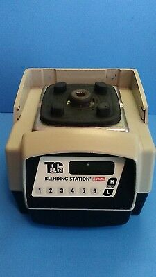 Free shipping Vitamix T&G 2 Blending Station base only used works VM0115A