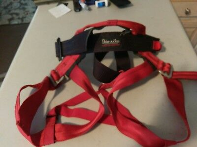 Blue Water harness for climbing, repelling and tree work