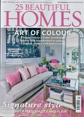 25 Beautiful Homes Magazine Issue July 2018 ~ New ~