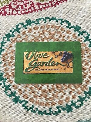 OLIVE GARDEN GIFT card $50 - $45.00 | PicClick