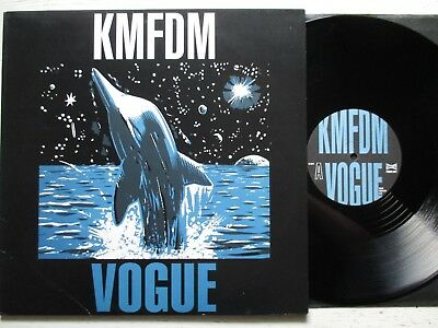 "KMFDM: Vogue – 12""-MAXI - UK 1992 WAX TRAX/TRANSGLOBAL electro/EBM/industrial"