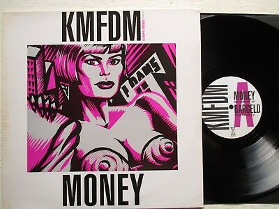 "KMFDM: Money / Bargeld – 12""-MAXI - UK 1992 WAX TRAX/TRANSGLOBAL EBM/industrial"