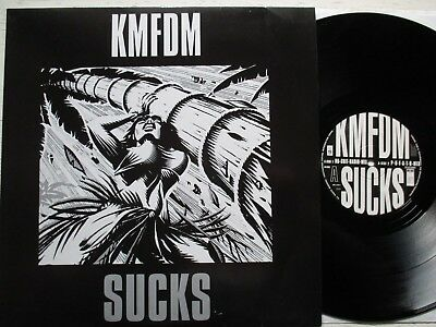 "KMFDM: Sucks – 12""-MAXI - GER 1992 BIG LIFE REC. electro / EBM / industrial"