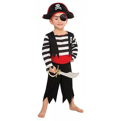 Pirate Costume Toddler Kids Halloween Fancy Dress