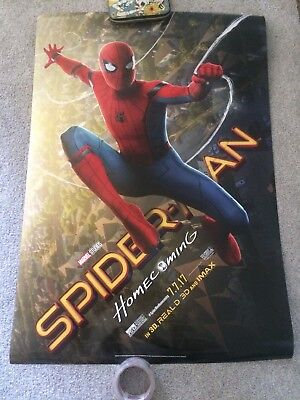 Spider- Man Homecoming Movie Poster One Sheet