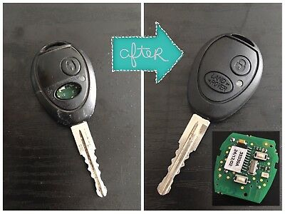 REPAIR SERVICE - Land Rover Remote Key Fob Circuit Board Discovery 2 Td5