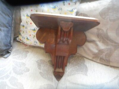 "Antique clock bracket,12"" x 12"", heavy 2k."