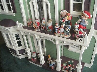 huge lot of 14 christmas decorations for your dollhouse