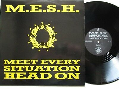 "M.E.S.H.: Meet Every Situation Head On 12""-MAXI - UK 1988 acid house PSYCHIC TV"