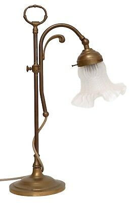 Classic Art Nouveau Reading Lamp Bibliothekenlampe Brass 2 Pcs. Available