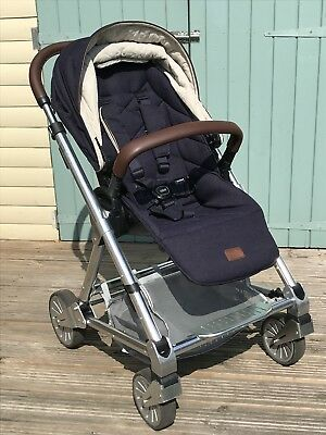 66c357522e1a7 MAMAS & PAPAS Urbo 2 Dark Navy Pushchairs Single Seat Stroller ...