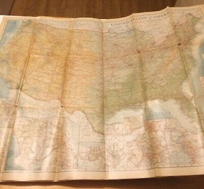 6 Vintage National Geographic Maps