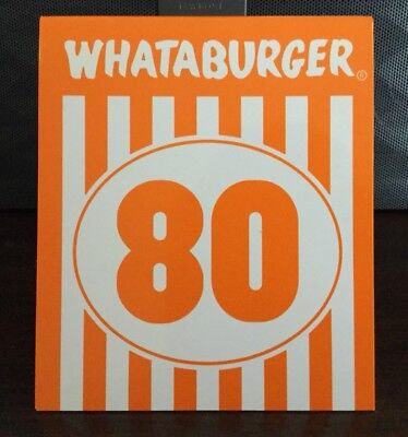 whataburger table tent 60 5 99 picclick