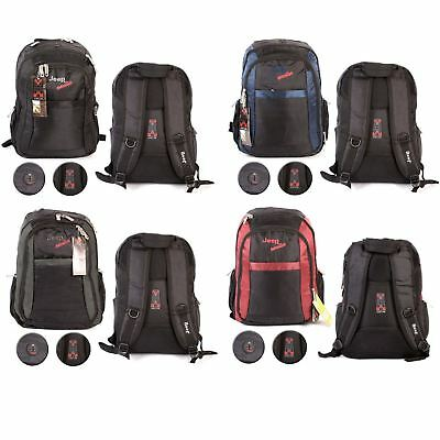 JEEP Executive School College Backpack Travel Hand Luggage Rucksack Laptop Bag