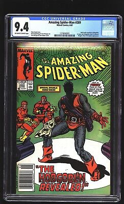Amazing Spider-Man 289 CGC 9.4 NM 1st new Hobgoblin Kingpin Marvel 1987