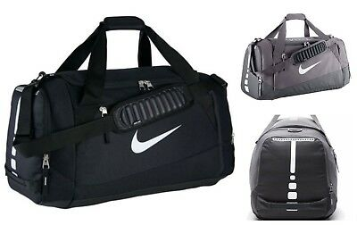 timeless design 2bb57 34007 Nike Hoops Elite Max Air Large Duffel Bag Black Grey BA4881 Basketball  Duffle
