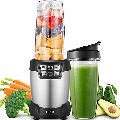 Aicok Smoothie Blender, 1200W Professional Blenders, Maker, 6 Blade Assembly...