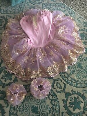 Dance Costume Adult Large Pink Ballet Costume Gallery Solo Competition Pageant