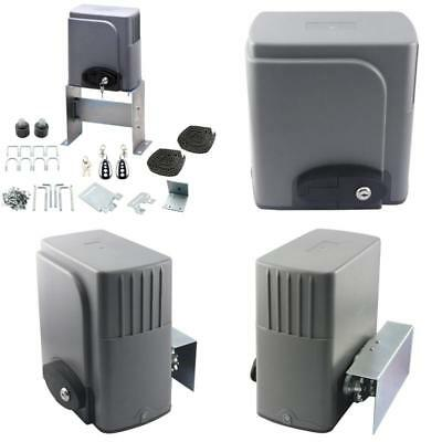 Co-Z Automatic Sliding Gate Opener Hardware Driveway Security Kit Systems Garage