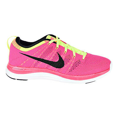 a404aac0bc09 NIKE FLYKNIT ONE+ Women s Sneaker Shoes Pink Flash Black 554888-606 ...