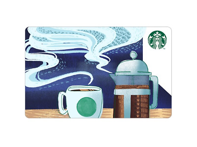 Starbucks Korea 2018 Coffee Aroma Card