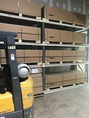 MASSIVE Heavy Duty Metal Shelves Warehouse shelving storage 10'x8'x4' Tall &Wide