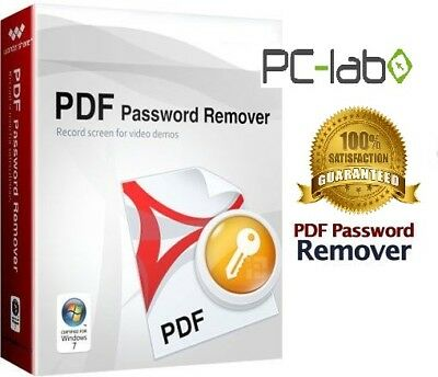 PDF Password Remover Adobe Windows lifetime license NEW