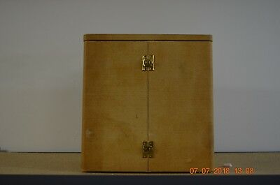 Vintage Wooden JAEGER LeCOULTRE ATMOS Carrying Box set of 1 for project