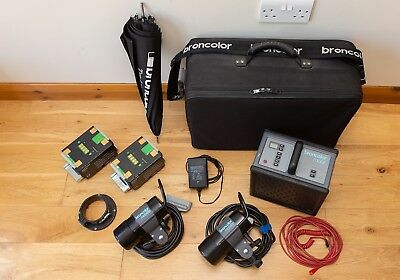 Broncolor Mobil Kit, Excellent condition and working order