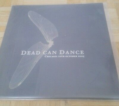DEAD CAN DANCE Live in CHICAGO 3 VINYL SET 2006