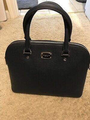0e5b4cafd4 MichAel Kors Selma Medim Dome Handbag Purse Satchel Clutch Wallet GUC