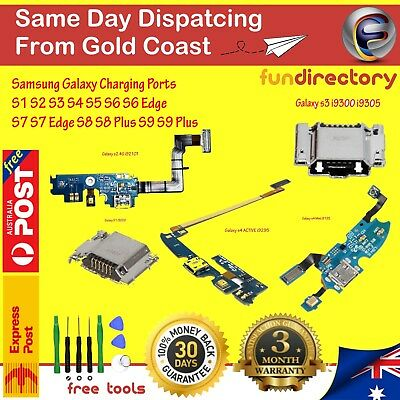 Samsung Galaxy USB Charging Port Connector Flex Cable Accessory Replacement Part