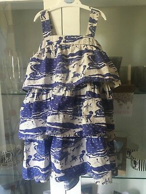 Gorgeous Joules Summer Dress age 6 worn twice