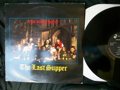 """The Bomb Party """"The Last Supper"""" LP 1986 UK/Gothic,France Press, Abstract Sound"""