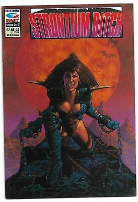 Durham Red The Strontium Bitch #2 Grant Ezquerra Fleetway Quality 2000AD VF/NM