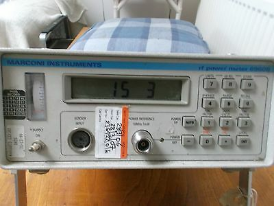 Marconi Instruments Model 6960 Rf Power Meter Ex Mod Test Laboratory Tested Gwo