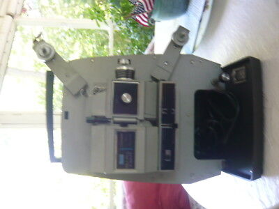 Sears 8mm and Super 8mm Projector plus 8mm Film Editor with Splicer