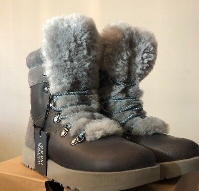 6475769cd5f UGG VIKI WATERPROOF 1017493 Metal Color Snow Boots Sz 6 Authentic*Woman's