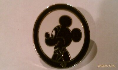 Disney Trading Pins-2007 DLR H.M.-Lanyard Silhouette Collection-Mickey Mouse