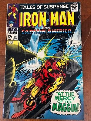 Tales of Suspense 99 Captain America and Ironman