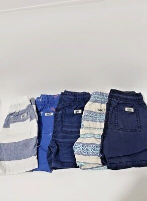 Toddler Boys 18-24  MONTHS , 5 Summer Lot  Shorts Gently Used Carter's Oshkosh