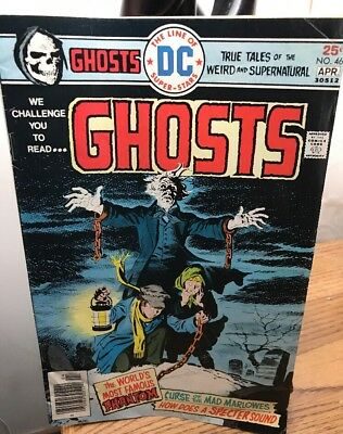 Vintage 1976 DC Comics Book Ghosts April #46