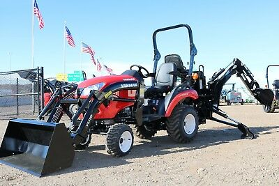 $239 mo - 2018 Yanmar 221XH-TLB 4X4 Tractor Loader Backhoe LOADED WITH OPTIONS!