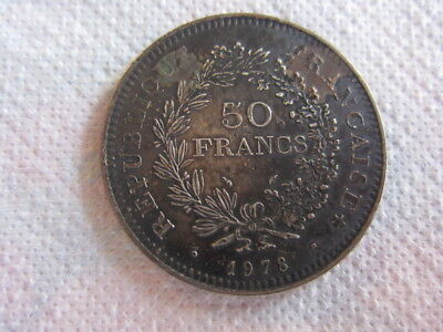 France 50 francs Hercule 1978 SPL