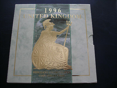 1996 Proof Coin Set United Kingdom Royal Mint Uncirculated