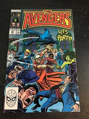 Avengers#291 Incredible Condition 9.2(1988) Kang, Buscema/Palmer Art!!