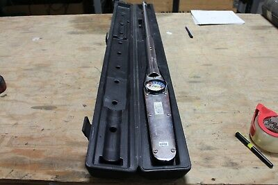 """CDI 6004LDF Torque Wrench 600 Ft/Lb 3/4"""" Dr with Extension Handle"""