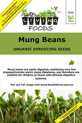 Mung Beans Organic Sprouting Seed